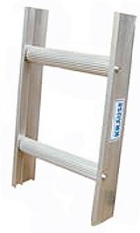 Алюминиевая лестница для чистки дымовых труб, 14 ступеней