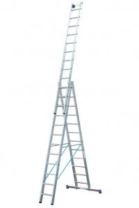 Лестница Stabilo 3х14 ступеней Profi