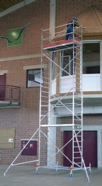 Передвижная вышка, серия 10. Рабочая высота - 8.40 м