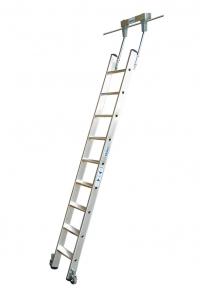 Лестница для стеллажей, 9 ступеней для круглой шины