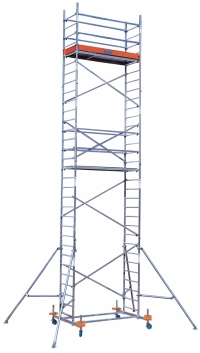 Пересувна вишка-тура ClimTec. База + 1 надбудова + 2 надбудова