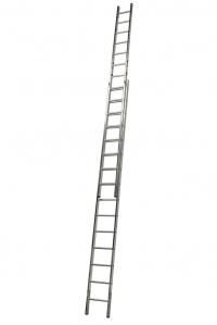 Выдвижная лестница 2х15 ступеней