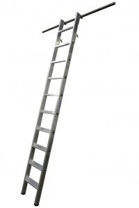 Драбина для стелажів, 7 сходинок, підвісна