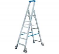 Лестница-стремянка 10 ступеней, передвижная