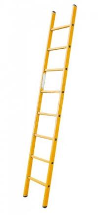 Приставная лестница из стекловолокна, 12 ступеней