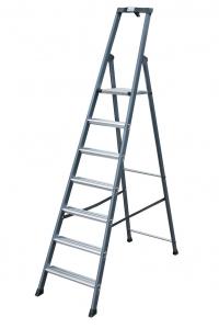 Лестница-стремянка 7 ступеней, анодированная