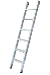 Лестница приставная со ступенями, 6 ступеней