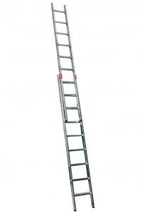 Выдвижная лестница 2х9 ступеней