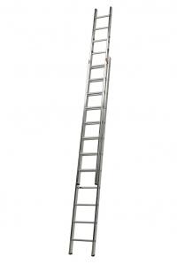 Выдвижная лестница Stabilo 2х12 ступеней