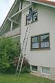 Лестница приставная, выдвигаемая тросом 2х18 ступеней