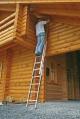 Лестница выдвижная 2х12 ступеней