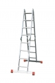 Лестница трансформер 5+4+4+5 ступеней