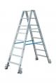 Лестница-стремянка 2х8 двустороння, передвижная