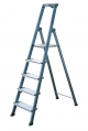 Драбина-стремянка 5 сходинок, анодована, Преміум клас