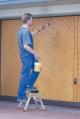 Двусторонняя складная подставка 2x2 ступени