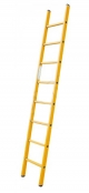 Приставна драбина зі скловолокна, 6 сходинок