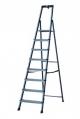 Драбина-стремянка 8 сходинок, анодована, Преміум клас